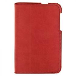 4World Samsung Galaxy Tab 2 műbőr Ultra Slim, 7'', piros tok-állvány