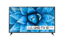 "LG 65UM7050PLA 165,1 cm (65"") 4K Ultra HD Smart Wi-Fi Fekete televízió"