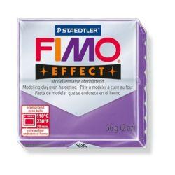 """FIMO """"Effect"""" égethető áttetsző bíborlila gyurma (56 g)"""