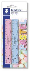 """STAEDTLER """"Pastel Line"""" 2x15 cm műanyag vonalzó"""