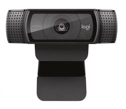 Logitech C920 HD Pro USB, 1080 p/30 fps - 720 p/30 fps fekete webkamera