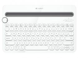 Logitech Multi-Device K480 fehér angol bluetooth mobil billentyűzet