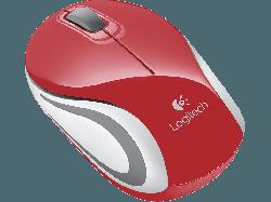 Logitech M187 mini vezeték nélküli piros egér