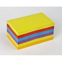 """3M POSTIT """"Super Sticky"""" 76x127 mm 6x90 lapos vegyes öntapadó jegyzettömb"""
