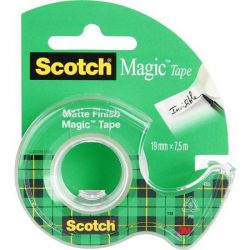 "3M SCOTCH ""Magic Tape 810"" 19 mm x 7,5 m kézi ragasztószalag adagolón"