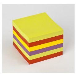 "3M POSTIT ""Z"" ""Super Sticky"" 76x76 mm 6x90 lapos vegyes öntapadó jegyzettömb"