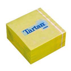 TARTAN 76x76 mm 400 lapos sárga öntapadó jegyzettömb