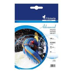 """VICTORIA """"Advanced"""" A6, 180 g, fényes tintasugaras fotópapír"""