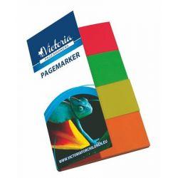 VICTORIA 20x50 mm papír vegyes színű jelölőcímke (4x40 lap)