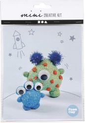 """CREOTIME """"Mini Creative Kit Alien"""" vegyes színű kreatív készlet"""