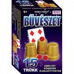 HANKY PANKY-CSIRIBÁ Magic Show bűvészdoboz - 15 trükk - poharak és golyók