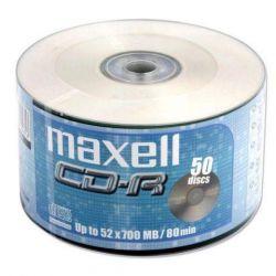 MAXELL CD-R 80 52x 50db/Henger Shrink írható, nyomtatható CD lemez