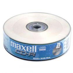 MAXELL CD-R 80 52x 25db/Henger Shrink írható CD lemez