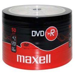 MAXELL -R 4.7GB 50db/Henger 16x Shrink Nyomtatható DVD lemez