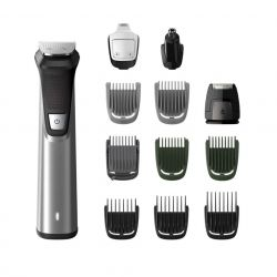 Philips Series 7000, 12 az 1-ben, arcra, hajra és testre fekete/szürke multifunkciós szakállvágó