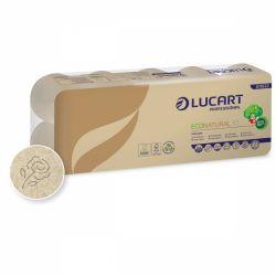 Lucart EcoNatural 10 kistekercses 2 rétegű natúr toalettpapír
