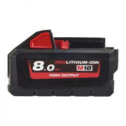 Milwaukee M18 HB8 18V 8.0 Ah REDlithium-Ion fekete-piros akkumulátor