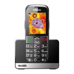 Maxcom MM720BBCZA fekete mobiltelefon extra nagy gombokkal