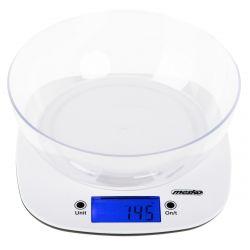 Mesko MS3165 5kg/1g fehér tálas konyhamérleg