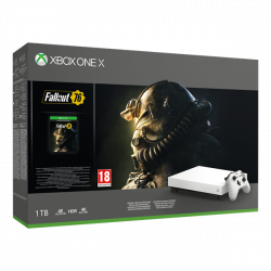 Microsoft Xbox One X 1TB + Fallout 76 játékkonzol