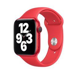 Apple MYAV2ZM/A 44mm gyári piros okosóra szíj
