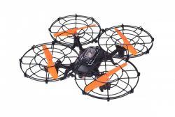 Fleg GF5002 USB, 3,7 V 300 mAh fekete-narancs távirányítós drón tengeralattjáró kamerával