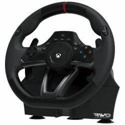Hori HRX364321 Racing Wheel: Over Drive Xbox One, PC, LED, 270 fokos elfordulás, fekete versenykormány