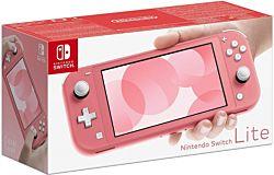"""Nintendo Switch Lite 5.5"""" LCD, 1280x720 korall játékkonzol"""