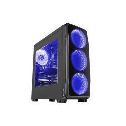 Natec Genesis TITAN 750 USB 3.0 kék midi számítógép ház