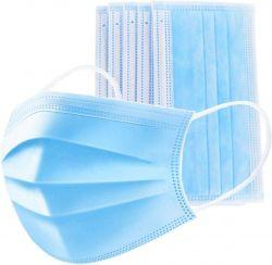 Kang 3 rétegű egészségügyi szájmaszk (50db)