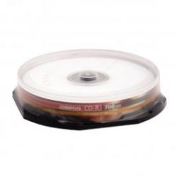 OMEGA CD-R 80  52x 10db/Henger írható CD lemez
