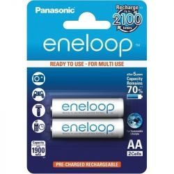 Panasonic Eneloop AA 1900mAh NIMH (2 db) Újratölthető elem