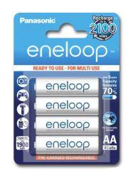 Panasonic Eneloop AA 1900mAh NIMH (4 db) Újratölthető elem