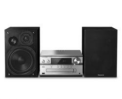 Panasonic SC-PMX94EG-S 120 W Fekete, Ezüst Otthoni mikro hangrendszer