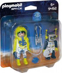 Playmobil® (9492) Space Űrhajós és robot Duo Pack