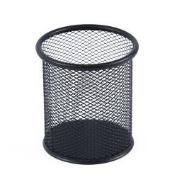 Fémhálós fekete írószertartó pohár