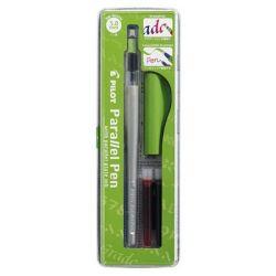 """PILOT """"Parallel Pen"""" 0,5-3,8 mm zöld kupakos töltőtoll"""