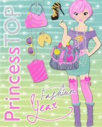 Regio (16578) Princess Top Fashion Year matricás foglalkoztató