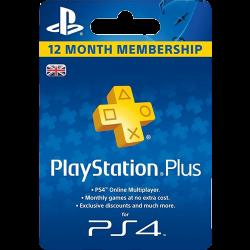 Sony PlayStation Plus 365 napos feltöltőkártya