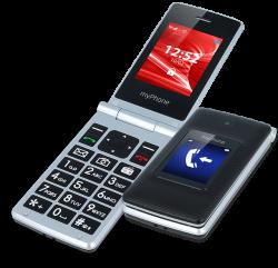 "myPhone Tango 2,4"" 128MB Dual SIM 3G fekete mobiltelefon"