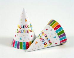 """""""Boldog születésnapot"""" papír csákó"""