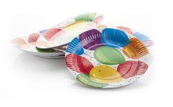"""23 cm """"Lufis"""" papír tányér"""