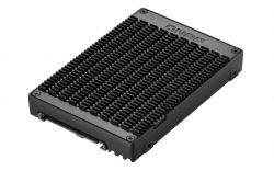 Qnap QDA-UMP U.2 PCIe - M.2 PCIe SSD fekete adapter