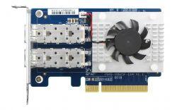 QNAP QXG-10G2SF-CX4 Belső Ethernet 1000 Mbit/s hálózati kártya