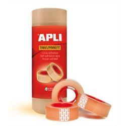 """APLI """"Transparent"""" 19 mm x 33 m átlátszó ragasztószalag"""