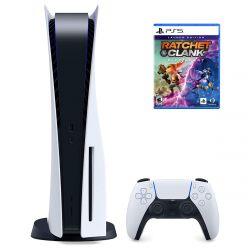 Sony PlayStation 5 játékkonzol + Ratchet & Clank: Rift Apart játékszoftver