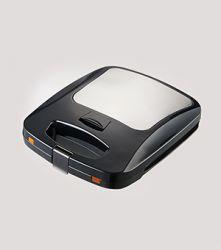 Ravanson OP-7050 1200 W 4 szeletes Fekete-ezüst gofrisütő