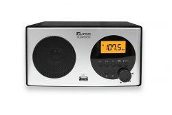 Eltra Albatros FM/Bluetooth/USB/LCD ezüst/sötét tölgyfa rádió