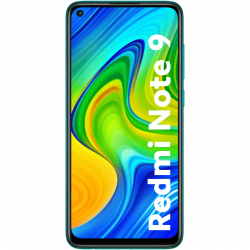 """Xiaomi Redmi Note 9 6,53"""" 64GB Dual SIM 4G/LTE zöld okostelefon"""