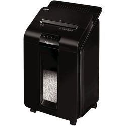 Fellowes Automax 100M DIN P-4, 60-65 db, 100 lap fekete iratmegsemmisítő